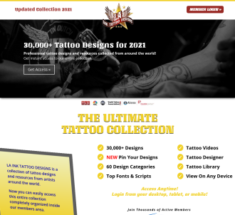 The #1 Resource For Tattoo Designs