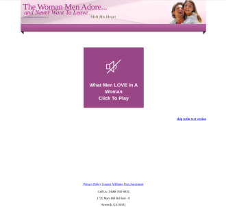 100% Commissions Available: The Woman Men Adore