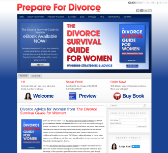 """the Divorce Survival Guide For Women"" - Brand New Product!"