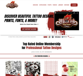 Miami Ink Tattoo Designs - Top Rated Tattoo Gallery Website!