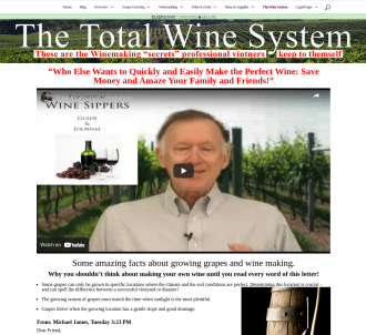 Grape Growing And Wine Making - The Total Wine Making System