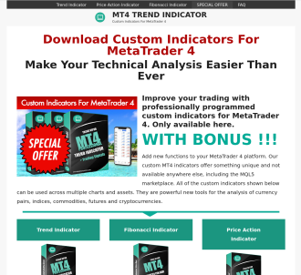 Mt4 Technical Indicators With Signals For Forex - 50% Commission