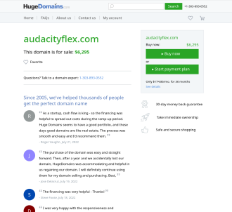 Audacity Flex - With 750 Sound Effects
