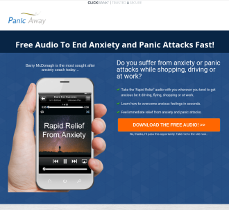 Panic Away - End Anxiety & Panic Attacks. Well-being And Self Help