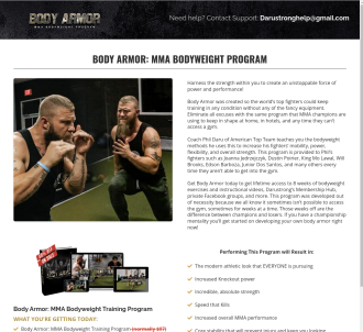 Body Armor Bodyweight Mma Program