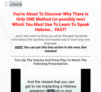 Practical Hebrew