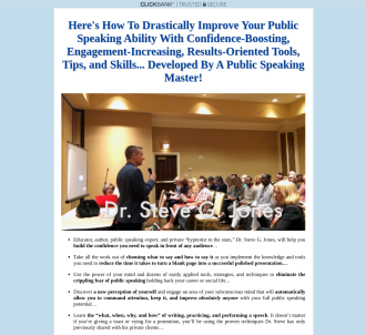 Public Speaking Certification