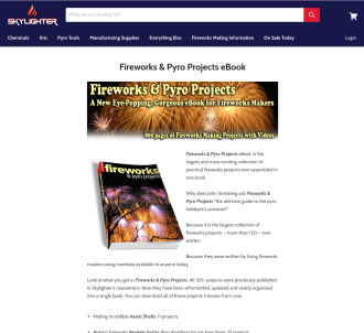 Fireworks & Pyro Projects Ebook