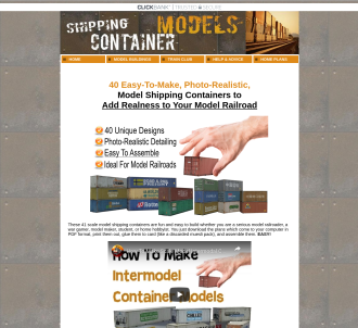 Model Buildings For Model Railroads And Trains