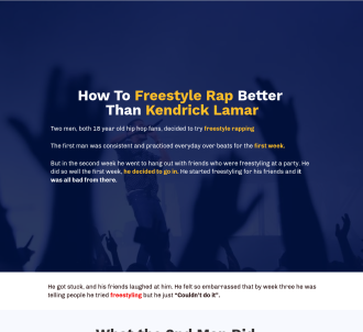 How To Freestyle Rap Better Than Kendrick Lamar