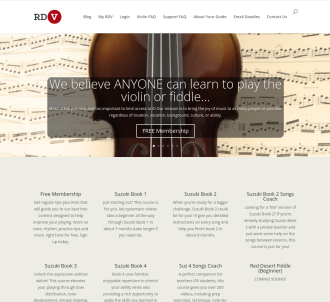 Online Violin & Fiddle Lessons