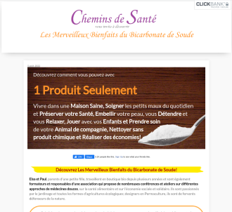 Chemins De Santé - Multi-proposal Offers !