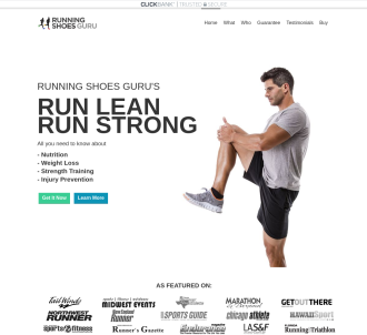 Run Lean Run Strong - By Running Shoes Guru