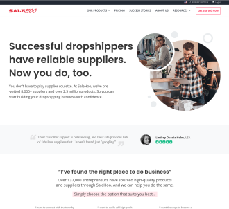 Salehoo Wholesale & Dropship Directory - #1 Affiliate Program
