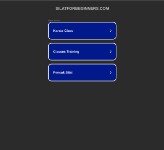 Guru Nizam s Silat For Beginners Video Training!