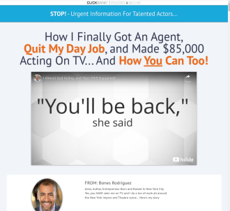 Untapped Actor Market- Everyone Wants To Be An Actor!