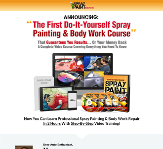 Car Spray Painting Videos - New Updates! $45.73 Per Sale