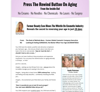Super Sexy Skin: Press The Rewind Button On Aging