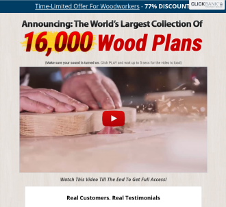 Tedswoodworking - Highest Converting Woodworking Site On The Internet!