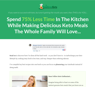 Finally A Keto Cookbook That Converts On Cold Traffic