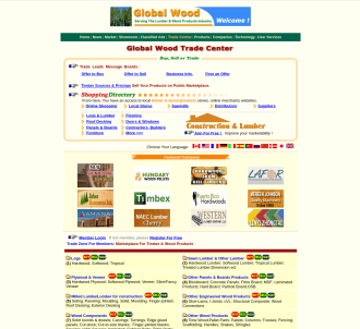 Worldwide Marketplace For The Wood And Furniture Products