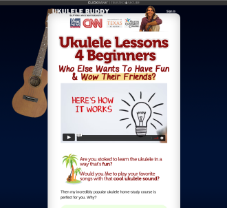 Ukulele Lessons With Good Conversion