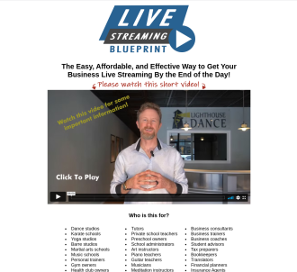 Live Streaming Blueprint