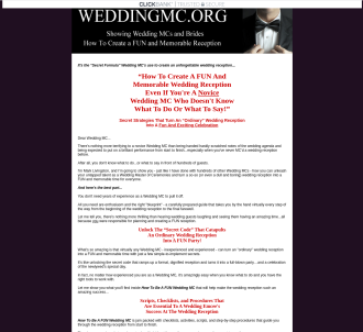 How To Be A Fun Wedding Mc