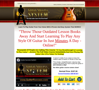 Guitar Success System - The Only Guitar Course You ll Ever Need!