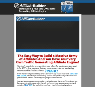 Brand New!..::!!high Converting!!..:::wp Affiliate Builder::...
