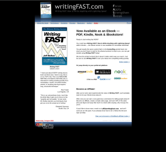 Writing F A S T : How To Write Anything With