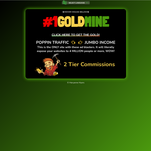 #1Goldmine Should Be Your Primary Advertising Resource