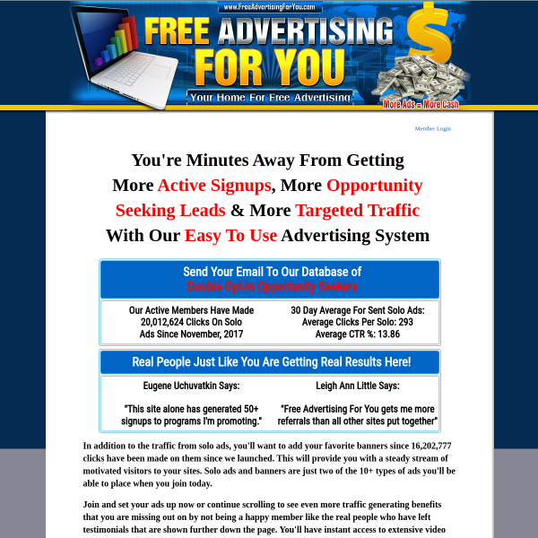 Get Traffic to Your Ads Easily! Check this site out..