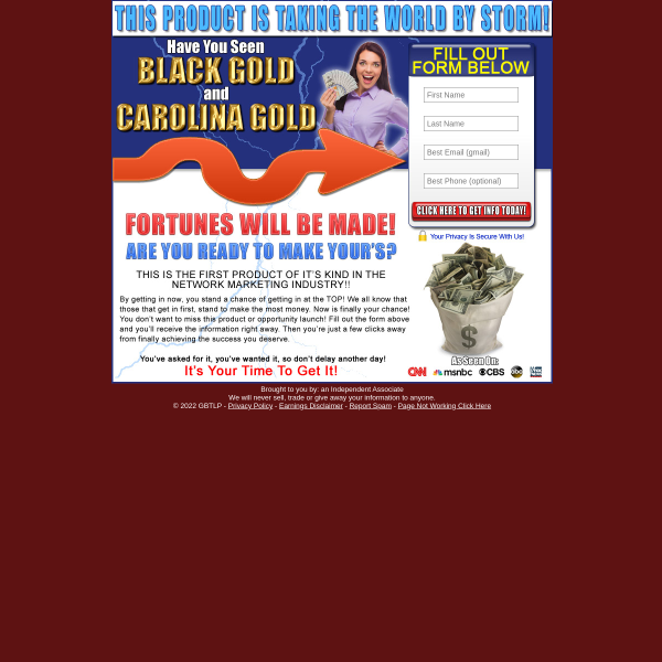 Just Launched BLACK GOLD and CAROLINA GOLD 94%