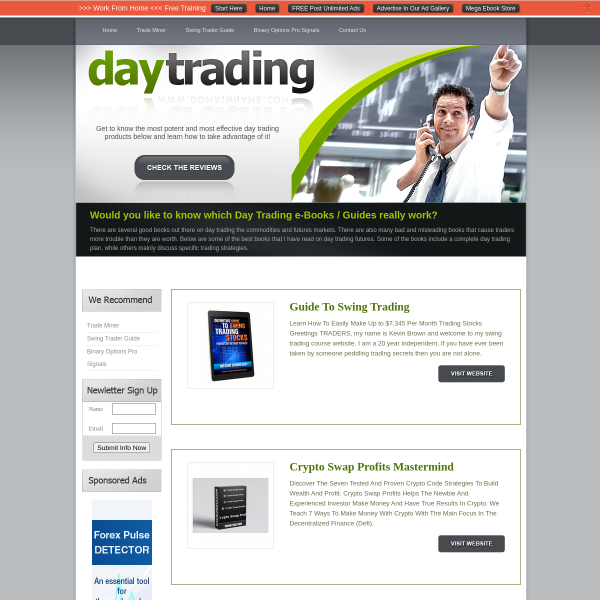 Day Trading Product Review Guide