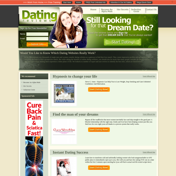 Dating & Romance Product Review Blog