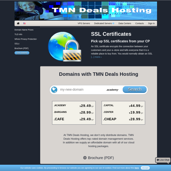 TMN Deals Hosting