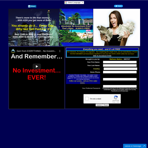 Earn Your First 100dollar to 500dollar Next Hour