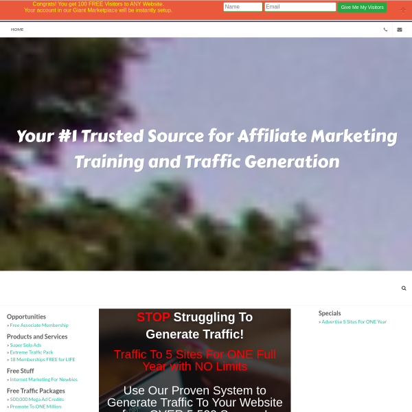SIGNUP FOR FREE & BUILD YOUR LIST WHILE EARNING!