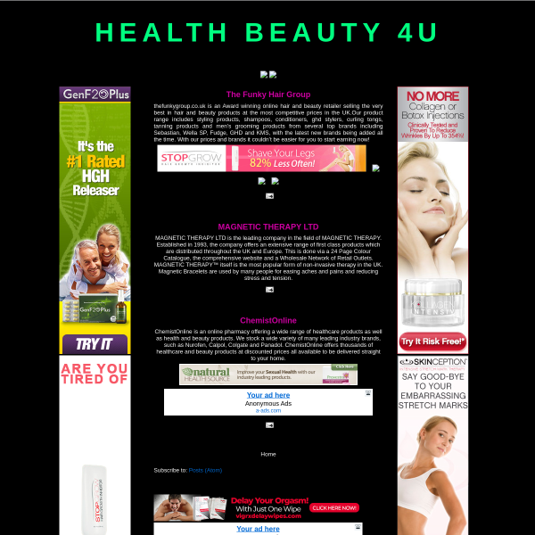 HEALTH BEAUTY 4U