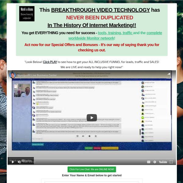 This BREAKTHROUGH VIDEO TECHNOLOGY has NEVER BEEN DUPLICATED