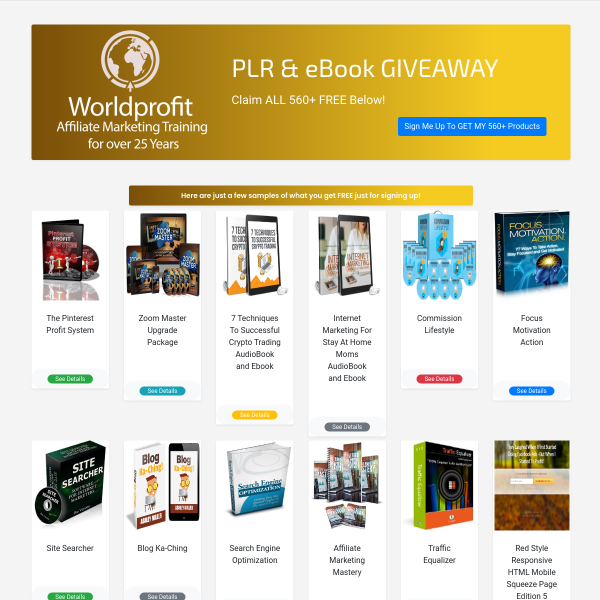 443+ Product eStore Offer ON NOW - F R E E Lifetime Traffic & Leads For ANY Business