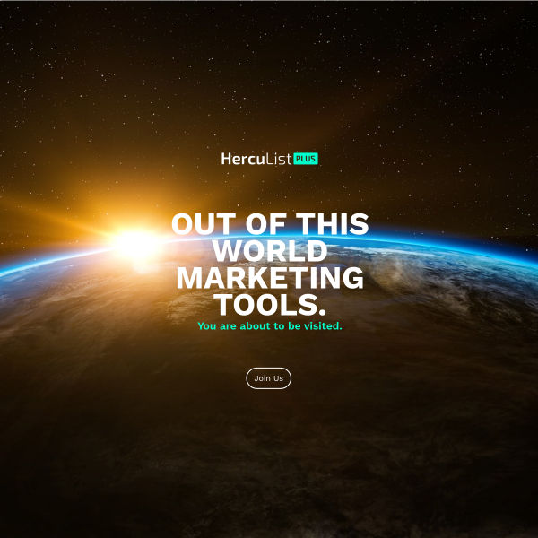 Out Of This World Marketing Tools!