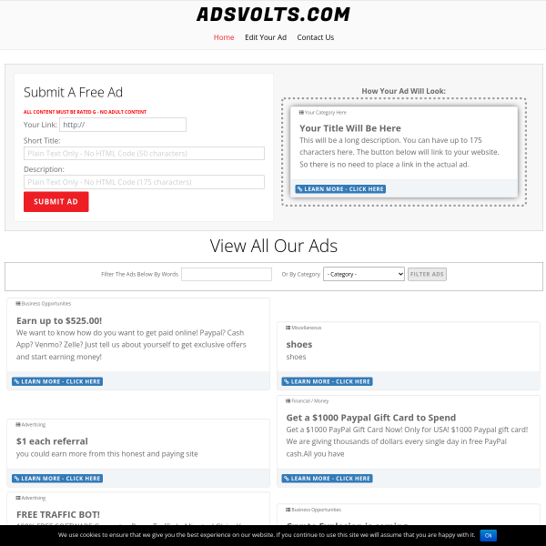 Free To Post Ads Anytime on our Classified Ad Site