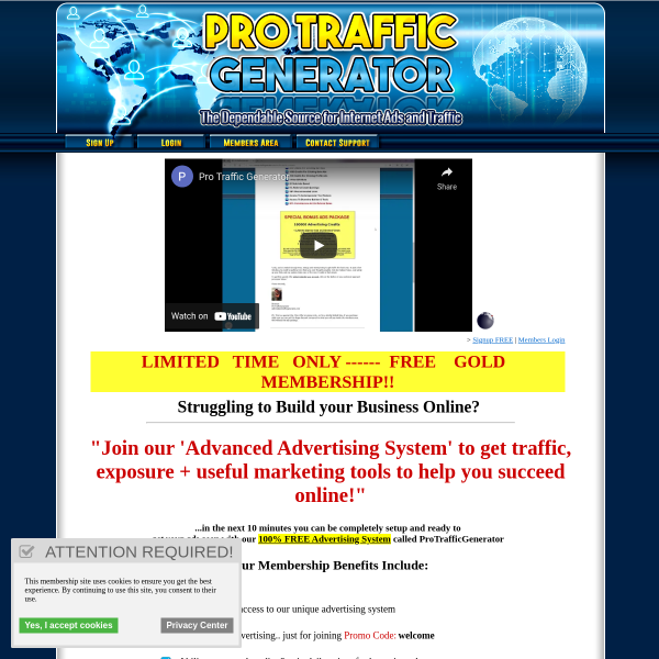 (1) Need more traffic and hits to your links?