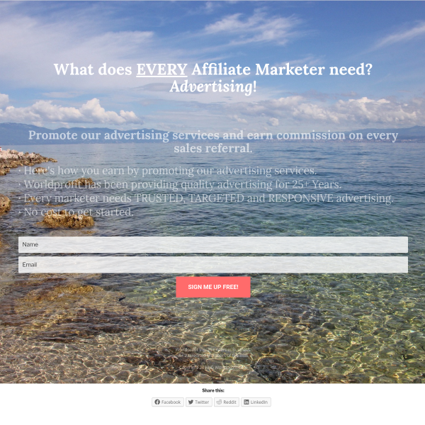What does EVERY Affiliate Marketer need?