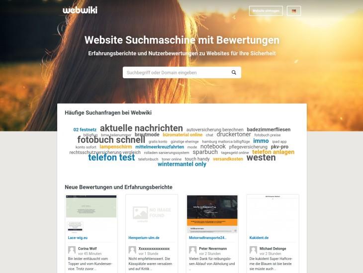 Webwiki - Das Bewertungsportal für Websites