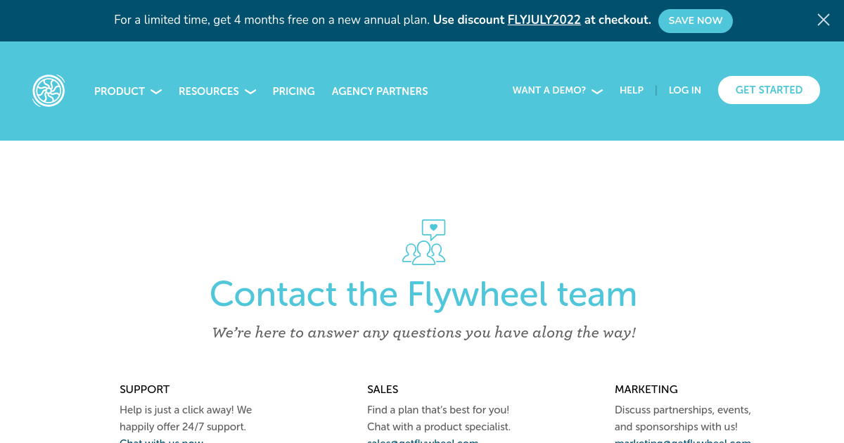 Flywheel | Contact Us