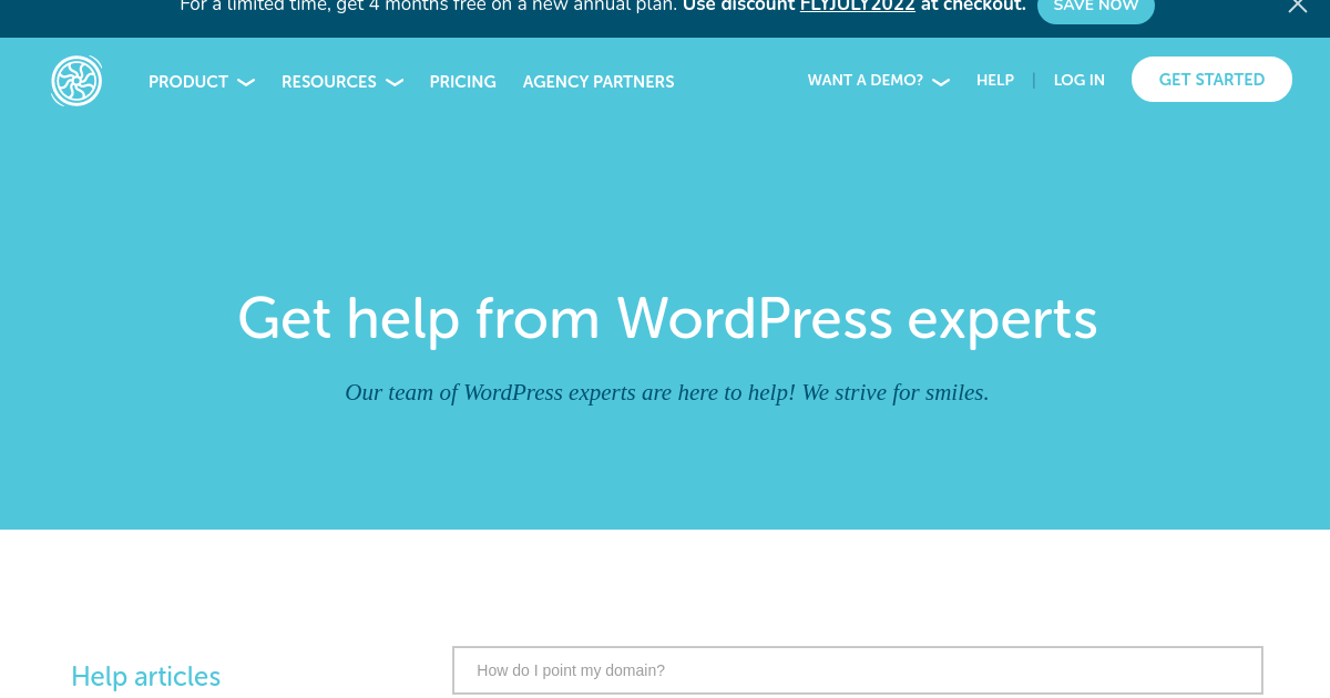 Flywheel | Managed WordPress Help