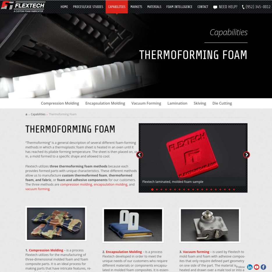 Flextech - Thermoforming Foam